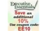 Executive Essentials coupon codes 2018